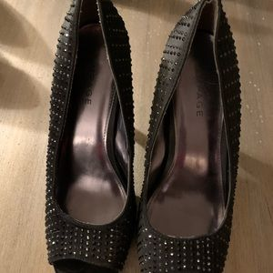 Rampage Heels size 9.5. EUC and only worn once.